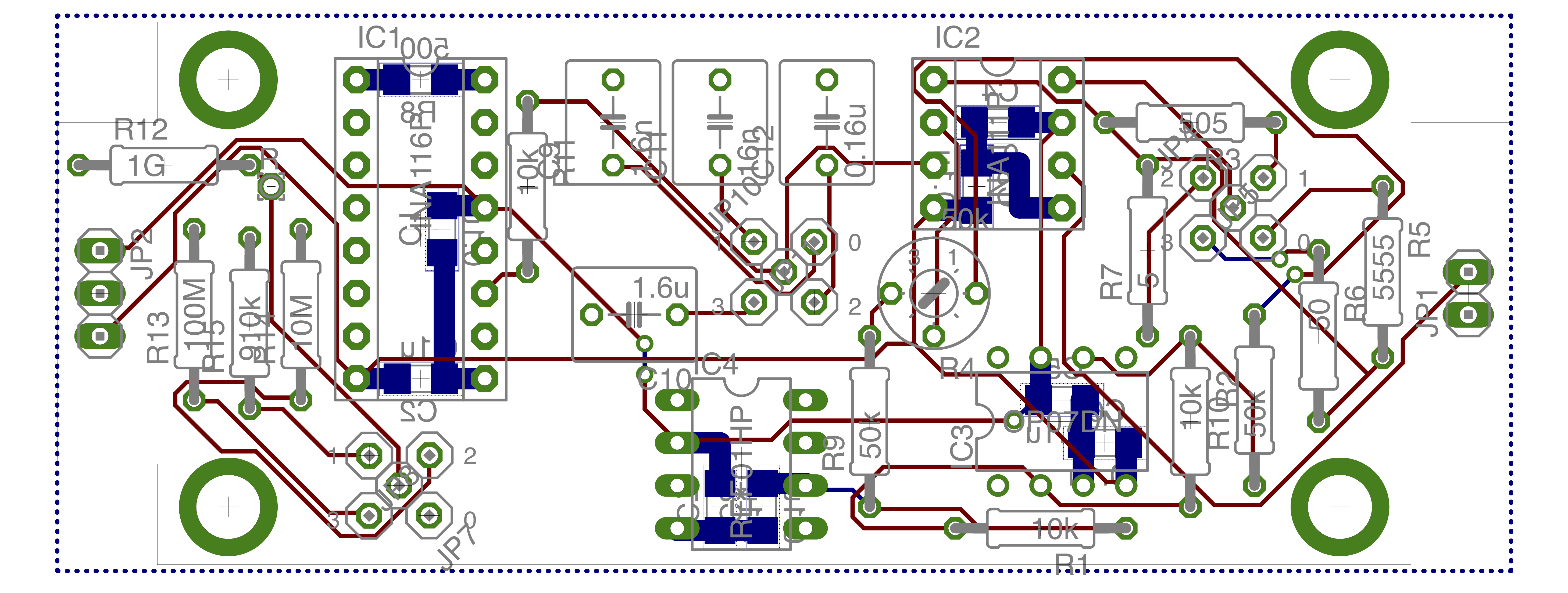Transimpedance Amplifiers Open Hardware From The Kandel Lab Amplifier Circuit Diagram For